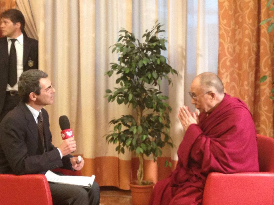 petrone e dalailama