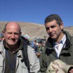 Carlo Petroni e Sandro alla miniera