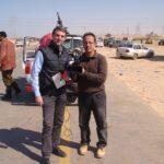 Sandro e il cameraman egiziano Mahdy