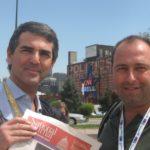 Denver, Colorado con Stefano Salimbeni productor, giugno 2011